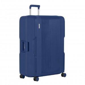 CarryOn Protector 4 Wiel Trolley 77 blue Harde Koffer