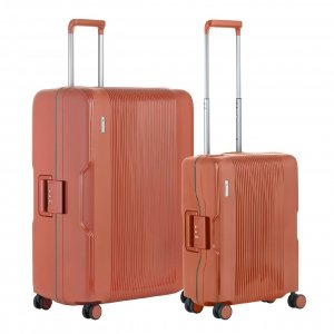 CarryOn Protector Trolleyset 2pcs terra Harde Koffer