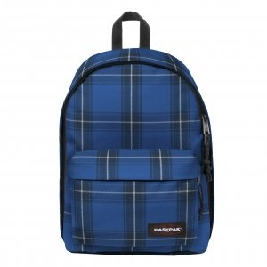 Eastpak Out Of Office Rugzak checked blue