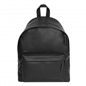 Eastpak Padded Pak'r Rugzak black authentic leather