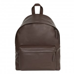Eastpak Padded Pak'r Rugzak brown authentic leather