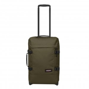 Eastpak Tranverz S Reistas army olive Handbagage koffer Trolley