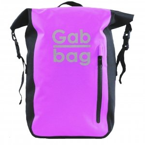Gabbag Reflective Waterdichte Rugzak 25L roze backpack
