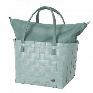 Handed By Color Deluxe Shopper greyish green Damestas