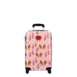 Kidzroom Trolley Suitcase Milky Kiss En Route peach Harde Koffer