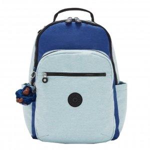 Kipling Seoul Rugzak fresh denim bl backpack