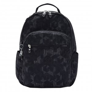 Kipling Seoul Rugzak mysterious grid backpack