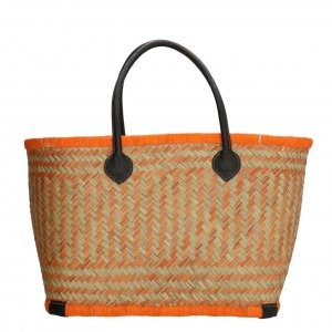 PE Florence Bozaka Rieten Mand oranje Damestas