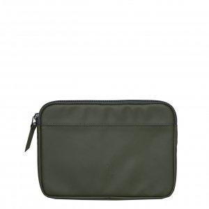 Rains Laptop Case 13'' green Laptopsleeve