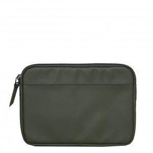 Rains Laptop Case 15'' green Laptopsleeve
