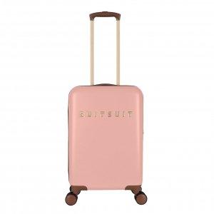 SUITSUIT Fab Seventies Handbagage Trolley 55 cm coral cloud Harde Koffer