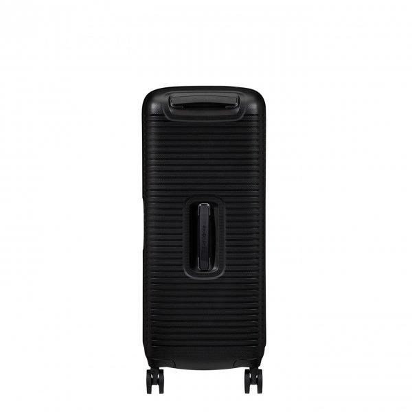 Samsonite Ibon Spinner 76 black Harde Koffer van