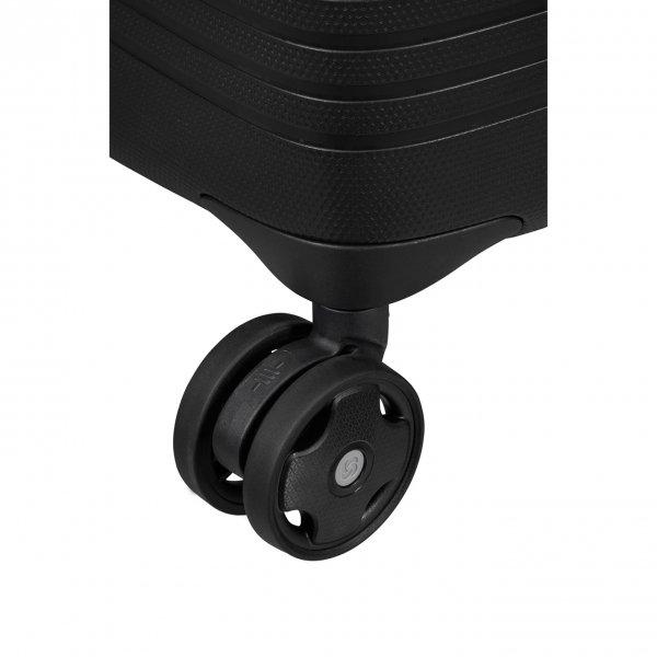 Samsonite Ibon Spinner 76 black Harde Koffer