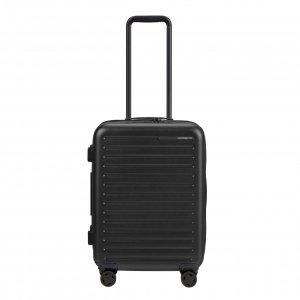 Samsonite Stackd Spinner 55 Exp black Harde Koffer