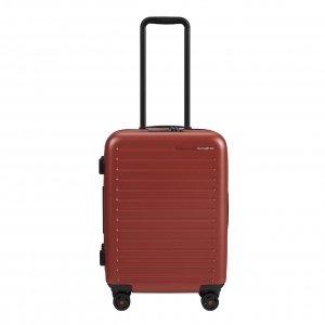 Samsonite Stackd Spinner 55 Exp red Harde Koffer