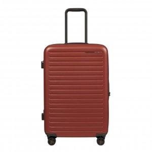 Samsonite Stackd Spinner 68 red Harde Koffer