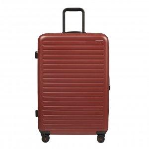 Samsonite Stackd Spinner 75 red Harde Koffer