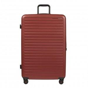 Samsonite Stackd Spinner 81 red Harde Koffer
