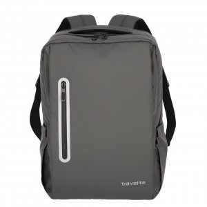 Travelite Basics Boxy Waterproof Backpack anthracite Laptoprugzak