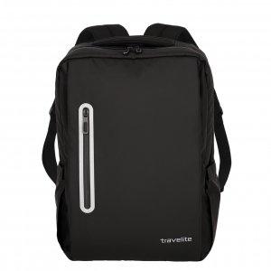 Travelite Basics Boxy Waterproof Backpack black Laptoprugzak