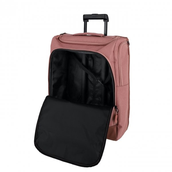 Travelite Kick Off Wheeled Duffle S rose Handbagage koffer Trolley van Polyester