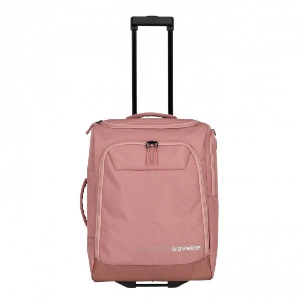 Travelite Kick Off Wheeled Duffle S rose Handbagage koffer Trolley