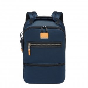 Tumi Alpha Bravo Essential Backpack navy backpack