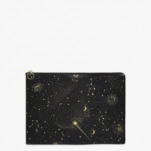 """Wouf Galaxy Laptophoes 13"""" black Laptopsleeve"""