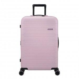 American Tourister Novastream Spinner 67 Exp soft pink Harde Koffer