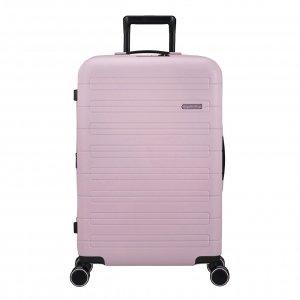 American Tourister Novastream Spinner 77 Exp soft pink Harde Koffer