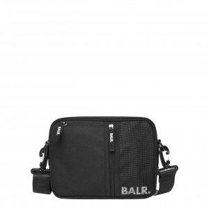 Balr. Travel Nylon Shoulder Bag jet black