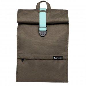 Bold Banana Roll Top Backpack green cosmo backpack