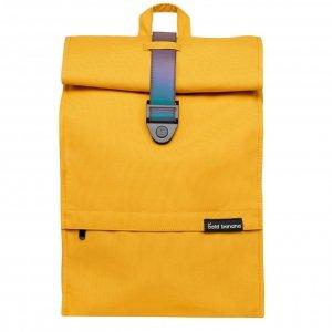 Bold Banana Roll Top Backpack yellow reflex backpack