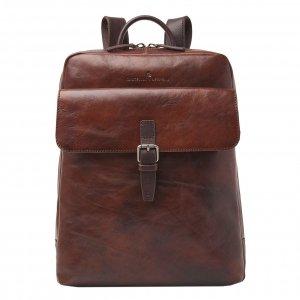 Castelijn & Beerens Rien Laptop Rugzak 15.6'' + tablet RFID cognac backpack