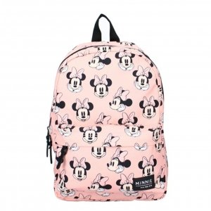 Disney Backpack Minnie Mouse Really Great pink Kindertas