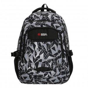 Enrico Benetti Santa Cruz 17.3'' Laptop Rugtas black grey backpack