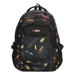 Enrico Benetti Santa Cruz 17.3'' Laptop Rugtas multi feather backpack