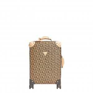 Guess 40Th Anniversary 18In 8 Wheelr brown Harde Koffer