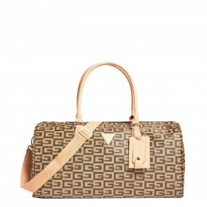 Guess 40Th Anniversary 18In Cry Dufl brown Weekendtas