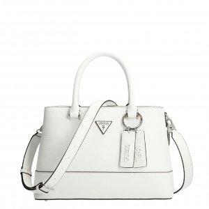 Guess Cordelia Luxury Satchel white Damestas