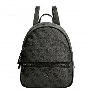 Guess Manhattan Backpack coal logo Damestas