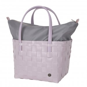 Handed By Color De Luxe Shopper soft lilac Damestas