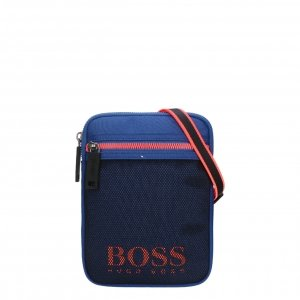 Hugo Boss Evolution NS Mini Bag medium blue Herentas