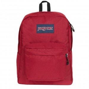 JanSport SuperBreak One Rugzak red tape backpack