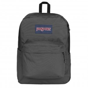 JanSport SuperBreak Plus Rugzak graphite grey backpack