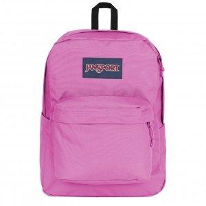 JanSport SuperBreak Plus Rugzak purple orchid backpack