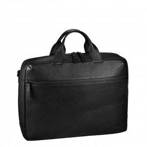 Jost Stockholm Business Bag L 2 Compartment black