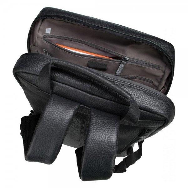 Jost Stockholm Daypack black backpack van Leer
