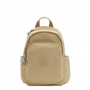 Kipling Delia Mini Rugzak cool beige be backpack
