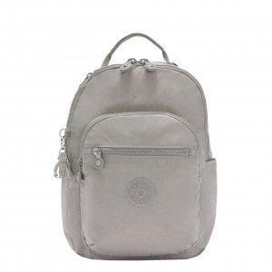Kipling Seoul Rugzak S grey gris backpack